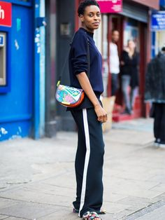 Trend Report: The New Sport-Luxe Trousers via @WhoWhatWearUK