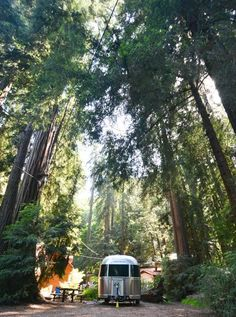 Airstream Destination and Delivery: Big Sur Campground and Cabins — GoSilver