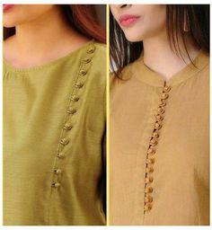 Chudidhar Designs, Churidhar Neck Designs, Salwar Neck Designs, Neck Designs For Suits, New Kurti Designs, Neckline Designs, Sleeves Designs For Dresses, Blouse Neck Designs, Sleeve Designs For Kurtis