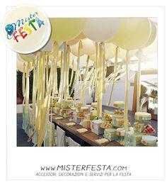 Tavola per #festa con #palloncini