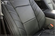 Our 2015 - 2020 Ford Limited Edition leather package includes everything needed to completely replace your bland factory cloth and can be fully customized Ford F150 Custom, F350 Ford, Leather Car Seat Covers, Leather Seats, Custom Leather, Real Leather, Ford F150 Accessories, Jeep Seats, Automotive Upholstery