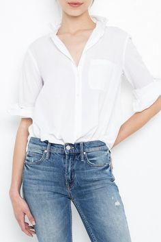 4ef2594c497 EASTON SHIRT-WHITE From ShopHeist.com! Classic White Shirt