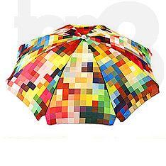 Le Pixel sun umbrella designed by Basil Bangs