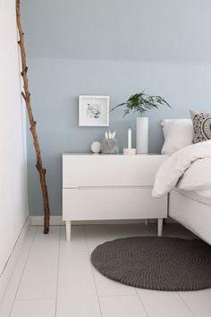 Schlafzimmer im Ganzen | Pinterest | Weiße möbel, Wandfarbe und ...