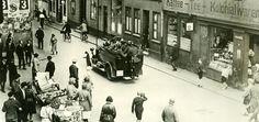 """Polizeistreife in Altona nach dem """"Blutsonntag"""", 19. Juli 1932  bloody fighting in hamburg 1932 between SA - KPD 18 killed...Weimar unrest"""