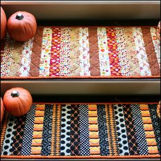 Reversible Holiday Table Runner for Halloween and Thanksgiving | AllFreeSewing.com