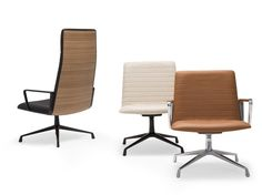 Executive chair with 4-spoke base FLEX EXECUTIVE | Executive chair by Andreu World