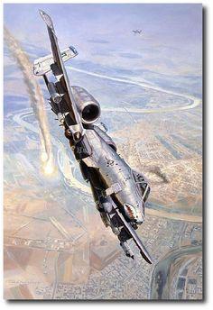 CAS with Teeth by Rick Herter (A-10 Thunderbolt II)