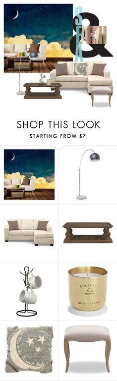 find your moon by valuecityfurn on Polyvore featuring interior, interiors, interior design, home, home decor, interior decorating, Dot & Bo, Primitives By Kathy, Home Basics and Tom Dixon
