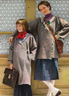 100 idées magazine N°23 Facile à couper, à coudre, à porter, manteau d'automne, free pattern