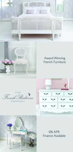 Welcome to the French Bedroom Company, award winning French furniture boutique. Explore our inspiring range of French beds and luxury bedroom furniture. Furniture Boutique, Luxury Bedroom Furniture, Luxury Bedding, French Interior Design, French Armoire, French Bed, French Chateau, French Furniture, Guest Suite