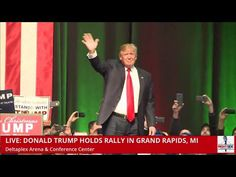 """Front Row Protester Disrupts Trump's Michigan Speech with """"ISRAEL DID 9/11! FIVE JEWS ARRESTED ON 9/11 IN NEW JERSEY, NOT MUSLIMS."""""""