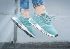 Free Shipping Only 69$ adidas NMD R1 Green Pink S76010 RELEASES FOR OCTOBER 1ST 2016
