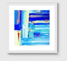 Abstract Print Abstract Art print Giclee Print by Artzaro