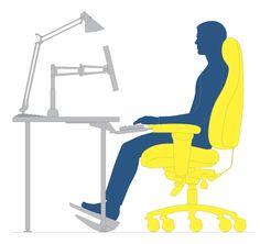 Desk lamp to reduce eye strain Bed Workout, Workout Rooms, Office Decor, Home Office, Craft Station, Workplace Wellness, Bar Led, Led Desk Lamp, Task Lighting