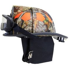 Bullard: USTM Traditional Fire Helmet, Forest Camo,  NFPA #TheFireStore LOVE THIS!!!!!