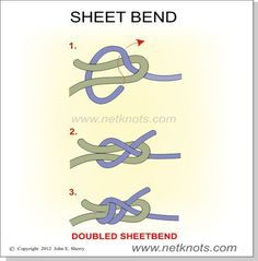 sheetbend knot