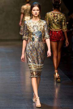 Celebridades colecciones otono invierno 2013 red carpet - Dolce & Gabbana