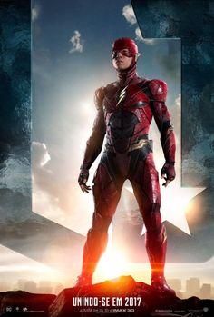 Liga da Justiça: Liberados pôsteres e teasers INCRÍVEIS na prévia do trailer!