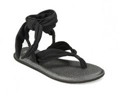 SANUK YOGA SLINGED UP BLACK