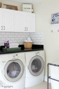Laundry room luxury | somuchbetterwithage.com