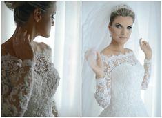 Noiva   Cabelo   Maquiagem   Vestido   Bride   Hair   Make Up   Dress   Casamento   Wedding