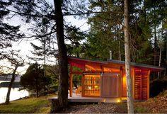 Red Cedar Cabins - The Gulf Islands, British Columbia, Canada