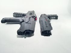 OMNICORP Weapons Division: M2 Battle Rifle and the NI-408 Taser Gun Found on takudazai.com