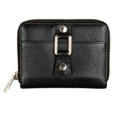 Karla Hanson - Black Women's Wallet - $49.99/each This Ladies Fashion Wallet is made from cow leather with a golden finish, approximately 13 x 2 x 9.5 cm. Presented by  www.ecomcreator.com Fashion Wallet, Ladies Fashion, Womens Fashion, Wallets For Women Leather, Cow Leather, Leather Wallet, Lady, Feminine Fashion, Fashion Women