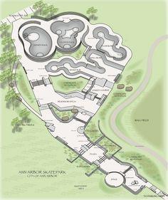 skatepark design plan - Google Search