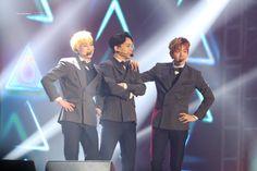 EXO-CBX - 170218 K-Drama Festa in Pyeongchang Credit: Light Up Dreamers.