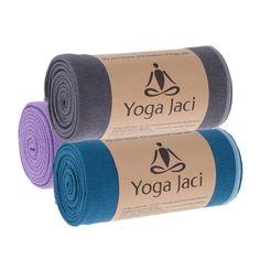 Hot Yoga Towel for Skidless Non Slip When Damp. Improve Grip, Protect Mat, Super Absorbent Hot Yoga Towel. Best for Bikram Ashtanga Pilates Fitness #JaciGlobal
