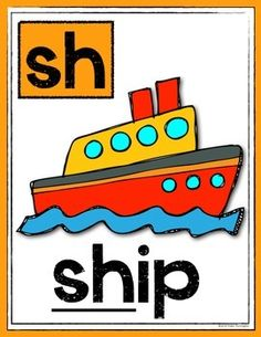 Digraph Posters: (Sh, Th, Ch, Wh, PH) & Writing Workshop Tool Sheet. $