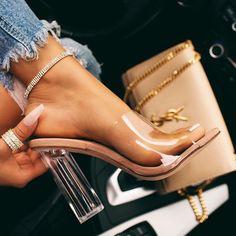 Miss Lola 10 affordable shoes store online! High Heels, Shoes Heels, Pumps, Vans Shoes, Aesthetic Shoes, Clear Heels, Cute Heels, Cheap Shoes Online, Fashion Heels