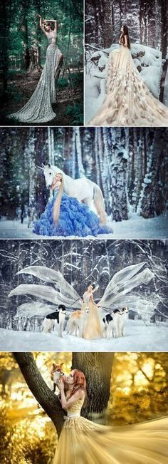 Some say that art is not complete without a little fantasy, and fantasy photography opens the doors to many creative opportunities that make fairy tales come true. If you are a fairy tale lover, why not consider adding a touch of magic to your bridal or pre-wedding portraits? Fantasy photography takes a lot of time … #creativephotography