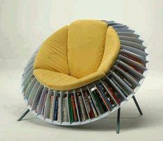 Interesting. Book papasan chair.