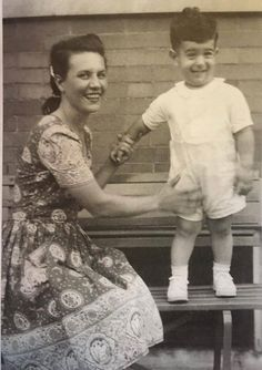 Frank Zappa and mother, 1942
