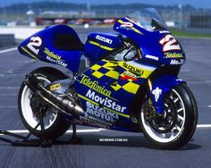Suzuki RGV500 Gamma 2-Stroke - Kenny Roberts Jr. - repined by http://www.motorcyclehouse.com/ #MotorcycleHouse
