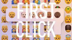 First Click: Old people can use emoji, too