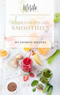 my favorite smoothies recipes ebook, juice recipes, live healthy, Smoothie Recipe Book, Protein Smoothie Recipes, Mendoza, Smoothies For Kids, Yummy Smoothies, Healthy Treats, Healthy Drinks, Alcohol Drink Recipes, Juice Recipes