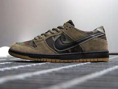 Przed Wami najnowsza odsłona kultowych butów Nike SB Dunk Low nawazna po prostu Camo, która utrzymana w mocno militarnym klimacie.