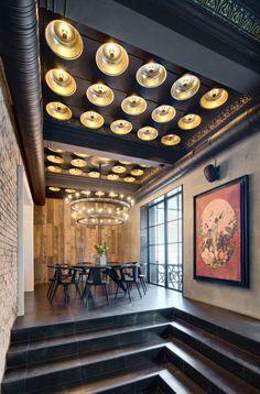 Dogs&Tails - Лучший интерьер ресторана, кафе или бара | PINWIN - конкурсы для архитекторов, дизайнеров, декораторов