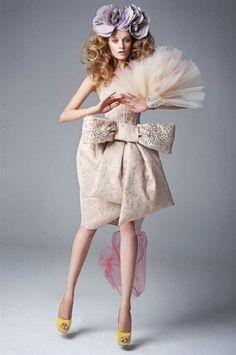 Fashion Editorial :: pastels