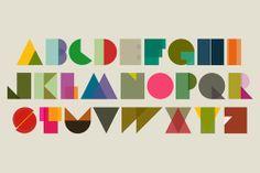 alphabet kids children illustration minimalistic digital by Tejara, $7.99