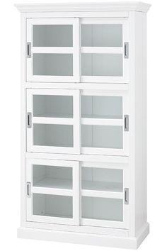 "Lexington Bookcase - 72""Hx38""Wx18""D - Barrister Bookcase - Glass Door Bookcase | HomeDecorators.com"