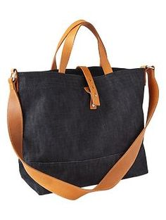 16b86297c9 Structured canvas tote