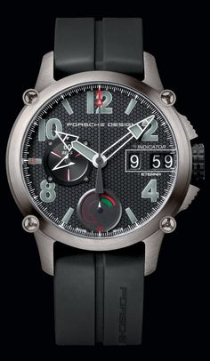 Porsche Design. The Indicator.