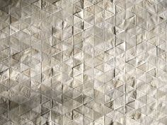 lifeonsundays:  5.9 x 7.8 ft White Triangles Cowhide Patchwork Hide Rug