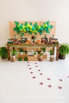 decoração festa dinossauro para meninos