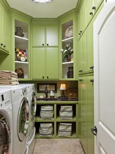 Cute laundry room...